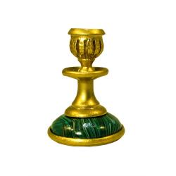 Подсвечник сувенирный малый, сплав олово (уп.1шт.)