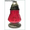 Лампада неугасимая красная со сменным блоком №6 (уп.15шт.)