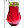 Лампада неугасимая красная со сменным блоком №8 (уп.16шт.)