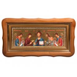 Икона Деисус в багете с рамкой
