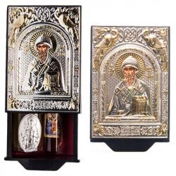 Набор свт. Спиридона: масло, миро, коробочка с иконой (уп.1шт.)