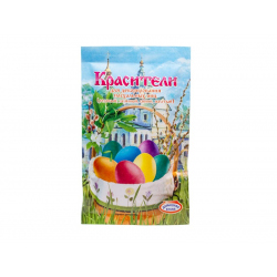 Краситель для декор.пасх. яиц, 4 цвета (16гр.)