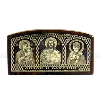 Триптих обсидиан большой (уп. 10шт.)