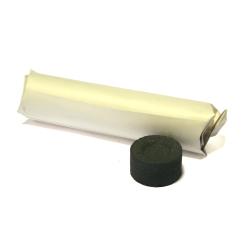 Уголь кадильный Средний, диаметр 35мм (7 табл./брикет;50брик./кор.)