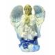 Фигурка ангела гол. с лилией (размер 12см) (уп. 4шт.)