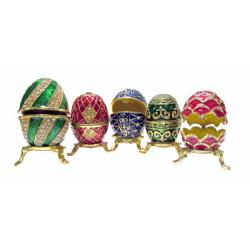 Яйцо пасхальное Фаберже малое (уп.1шт.)