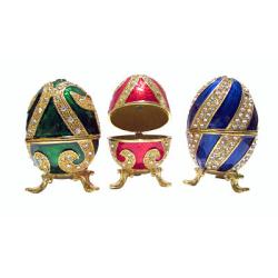 Яйцо пасхальное Фаберже среднее (уп.1шт.)