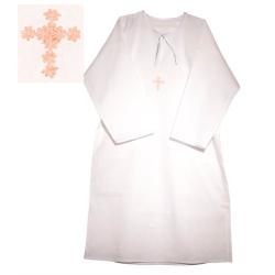 Сорочка крестильная взрослая, р:46-60 (бязь)