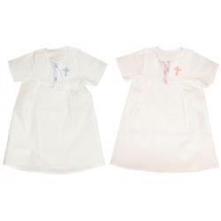 Сорочка крестильная, рост: 110-126 (бязь)