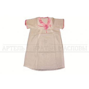Сорочка крестильная, рост: 146-160 (бязь)