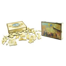 """Раскраска-собиралка """"С Рождеством Христовым"""", + магнит в подарок (игра-конструктор, 40 деталей"""