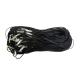 Гайтан хлопок с винтом (черн/бел) (уп. 100 шт.)