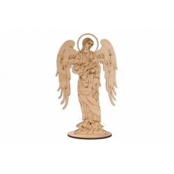 Раскраска-Ангел (дерево) (уп. 10шт.)