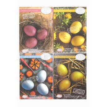 """Набор для декор. яиц """"Природная коллекция"""" в ассорт."""