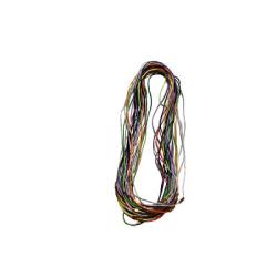 Гайтан шёлковый с замком винтом цветной (уп.100шт.)