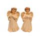 Фигурка ангела (бел.с золотом средний) (11,7см)