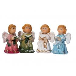 Фигурка ангела мал. (красн.,син.,зел.,бел.) (5,7см) (уп.12шт.) GS-09206