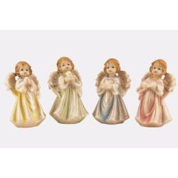 Ангел в ассорт.(А-12, размер 10 см) (уп. 4шт.)
