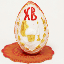 Свеча «Пасхальное яйцо» большое
