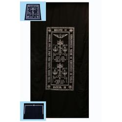 Погребальный набор монашеский (полушерсть,на х/б подкладке; 220х120см)