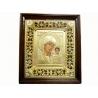 Икона в киоте и багете Казанская (31,5*35,5см)