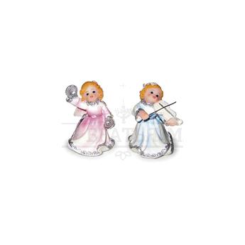 Фигурка ангела мал. с муз.инструментами (6,5см)