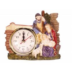 """Композиция """"Святое Семейство"""" с часами"""