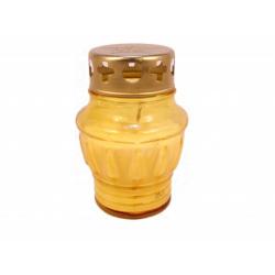Лампада неугасимая желтая залитая (уп.16шт.)