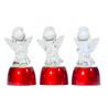 Ангел стеклянный светящийся малый (размер 7см) (уп. 1шт.)