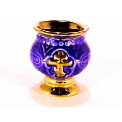 Лампада керам. Золотой Крест