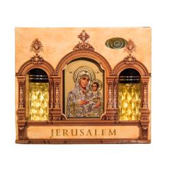 Благовоние Иерусалим двойное с иконой (уп.1шт.)