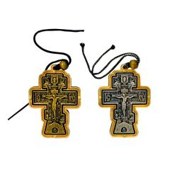 """Крест подвесной керам.""""Иерусалим"""" НОВ.(уп.30шт.)"""