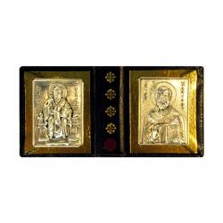 Образочки свт. Спиридона и свт.Николая в чехле