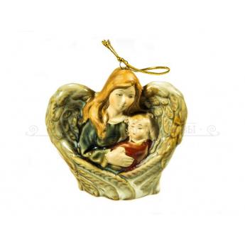 Подвесная композиция Ангел-Хранитель с ребенком HG67 (уп.1шт.)
