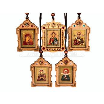 Икона подвесная с ладаном (уп.30шт.)