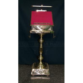 Аналой с ящиком и электроподсветкой (Высота:135см)