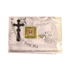 """Погребальный набор """"Спаситель"""" (покрывало, наволочка, платок) ПОЛНЫЙ Комплект"""
