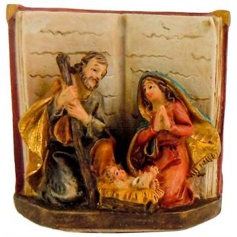 """Рождественская комп.""""Св.Семейство в Библии"""", 5см.(уп.2шт.)"""