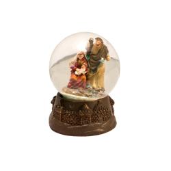 """Рождественская комп.""""Св.Семейство в шаре"""", 4,5см.(уп.12шт.)"""