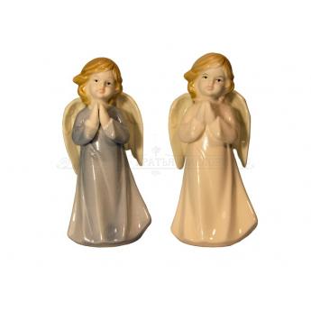 Ангел фарфоровый большой,13см (уп.4шт.)