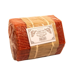Свечи Красные полувосковые станочные № 120 (2 кг)