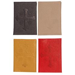 Паспорт с тиснением Крест и молитва Кресту с 2-мя карманами, 5501Кр