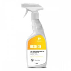 Дезинфицирующее средство на основе изопропилового спирта «DESO C9»,600 мл(уп.1шт.)