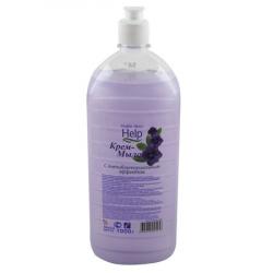 Жидкое мыло HELP с Антибактериальным эффектом,1000гр.(уп.12шт.)