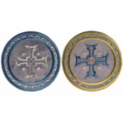 Медальон для чаши с крестом,D15см (уп.1шт.)