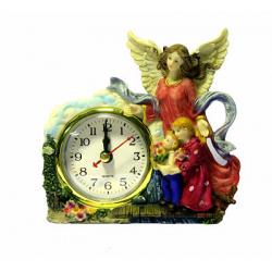"""Композиция """"Ангел Хранитель"""" с часами (уп.1шт.)"""