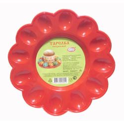 Тарелка Пасхальная пластиковая (d235мм)