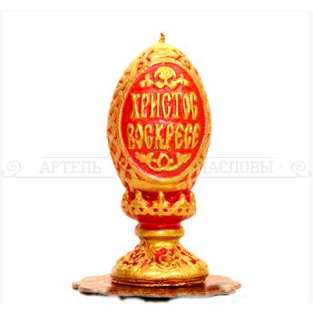 """Свеча Пасхальная """"Яйцо на подставке"""""""