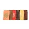 Обложка д/соц.карт с тиснением и молитвой, в ассорт.(кожа) 8105