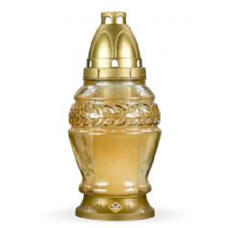 Лампада неугасимая желтая со сменным блоком (уп.8шт.)